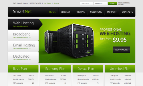 Free Hosting  Css3Template
