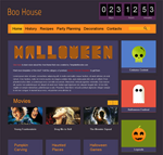 Boo House  Css3Template Downloads: 295