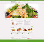 Gourmet  Css3Template Downloads: 135